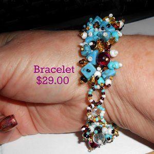"""Guatemalan Bracelet 1"""" wide"""